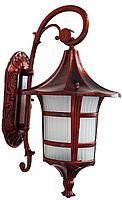 Светильник садовый 8131 настенный красная медь
