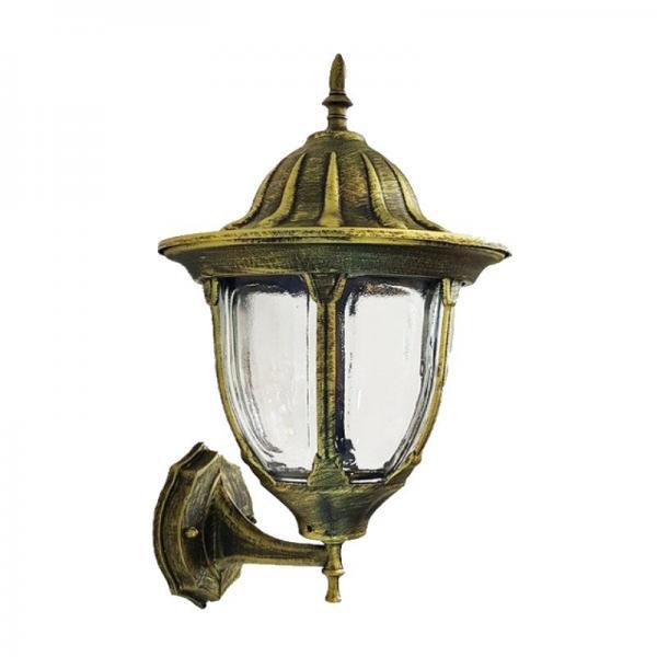 Светильник садовый 8161 настенный  чёрное золото