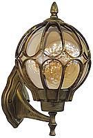 Светильник садовый 9681M настенный  чёрное золото