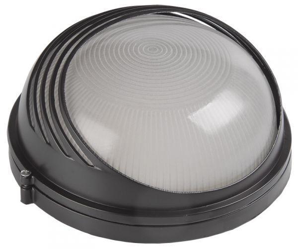 Светильник чёрный круг ресничка 60 Вт (BLS-1307)