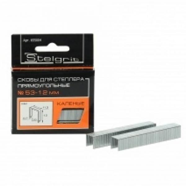 Скобы для степлера закал. 12 мм (1000)