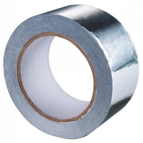 Скотч алюминиевый 50мм*10м (РУМ)