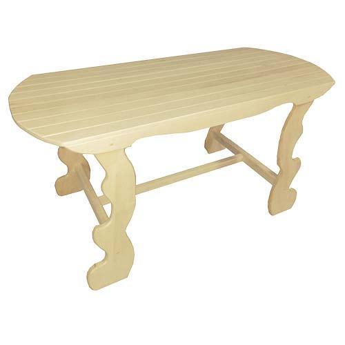 Стол фигурные ножки 1,2м ( липа)
