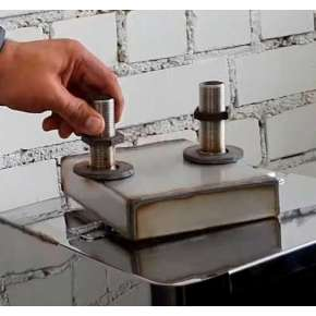 Теплооменник берёзка (нж 2,5мм) 150*170мм