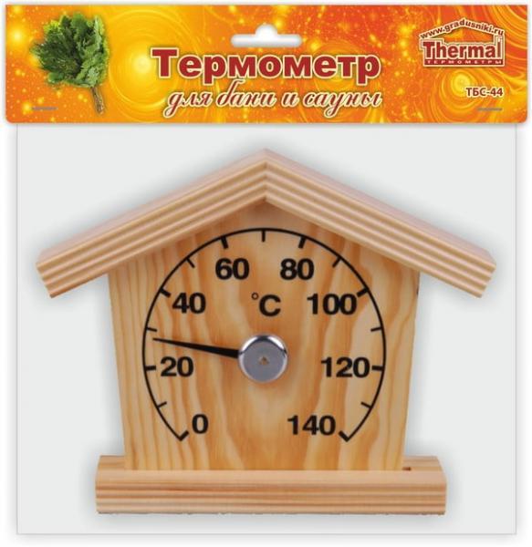 Термометр для сауны ТБС-44 домик