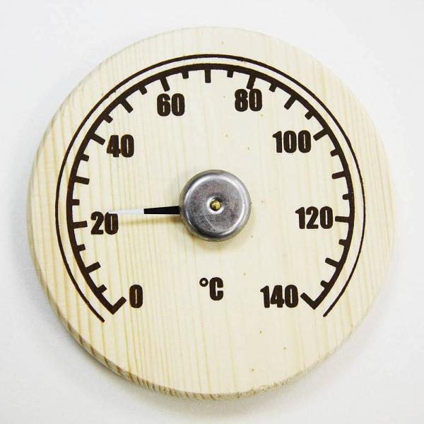 Термометр круглый открытый СБО-2Т, уп.картон