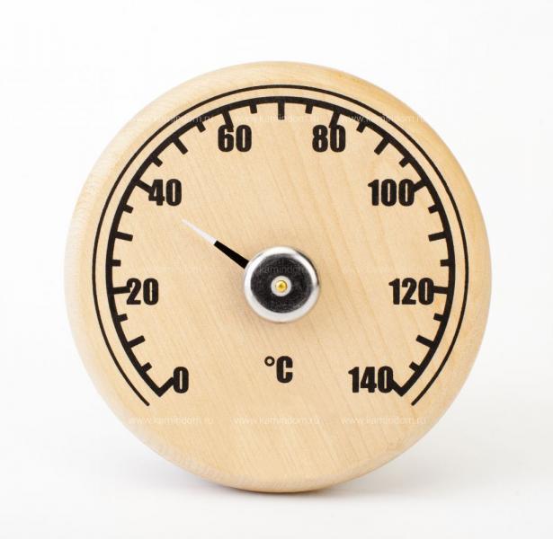 Термометр круглый открытый СБО-1Т, уп.картон