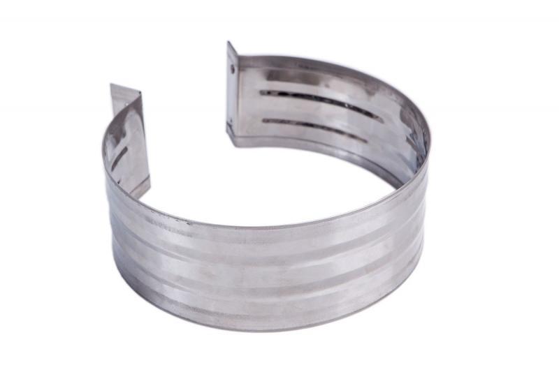 Хомут обжимной 115 (нерж. 0,5 мм)