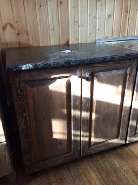 Шкаф кухонный с полкой 800 темный (ВН)