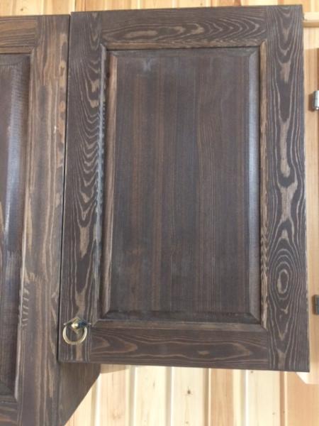 Шкаф навесной 400 малый темный (ВН)