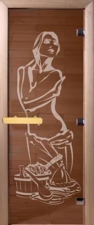 """Дверь """"DoorWood """"Искушение"""" 1900х700 бронза 6мм."""