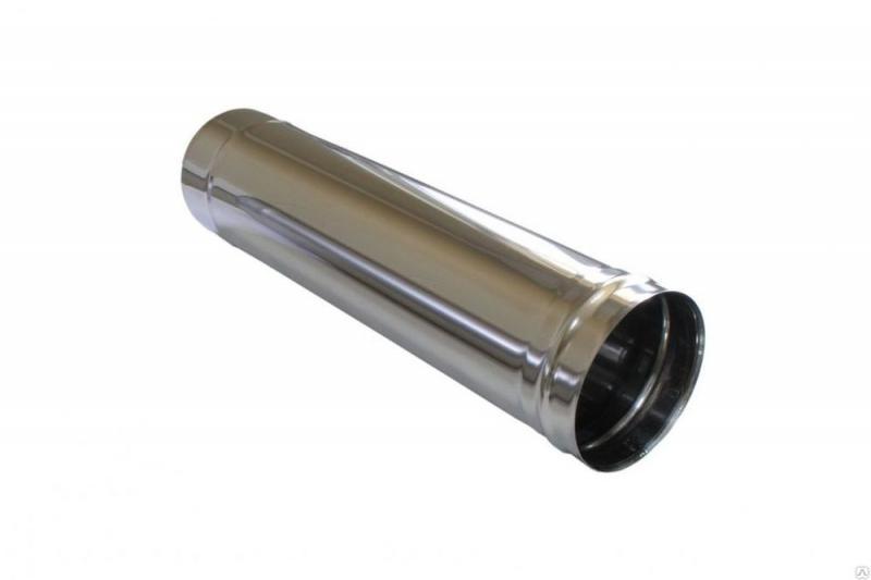Труба 200 1м (нерж 1мм.)