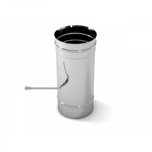 Шибер-поворотный 115 0,5м (нж 1мм)