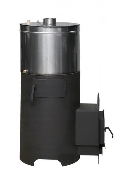 Печь Варяг с выносом-24м3 с баком нж 90 л.
