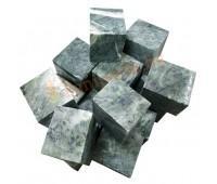 "Камень для бани ""Серпентинит"" кубы (ведро 10кг)"