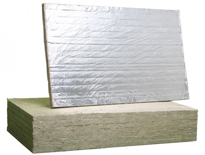 Базальтовый картон фольга 1250*600*10