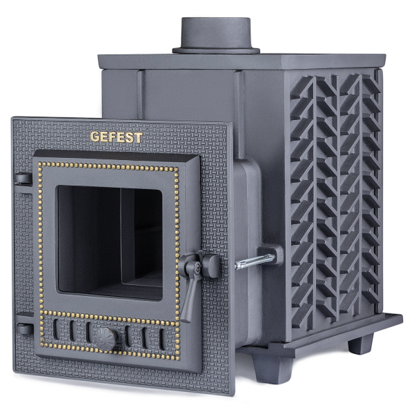 Чугунная печь для бани Гефест (ПБ-04М) 15 м3