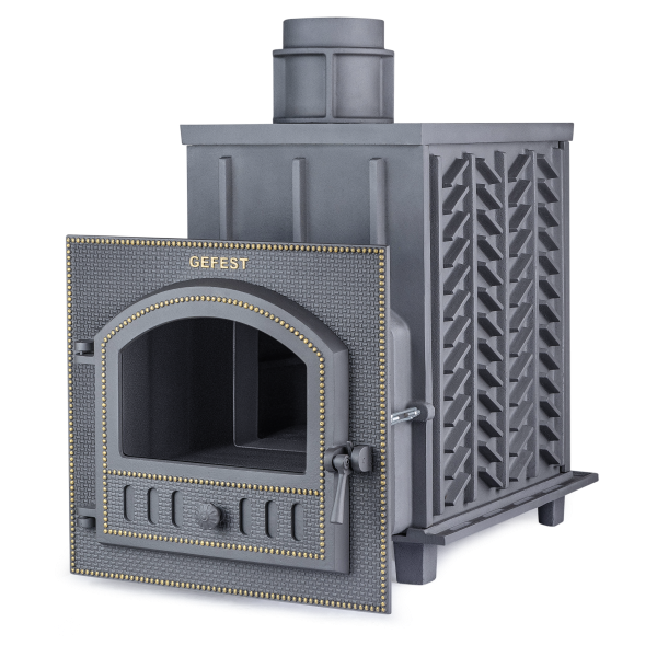 Чугунная печь для бани Гефест (ПБ-02М) 35 м3