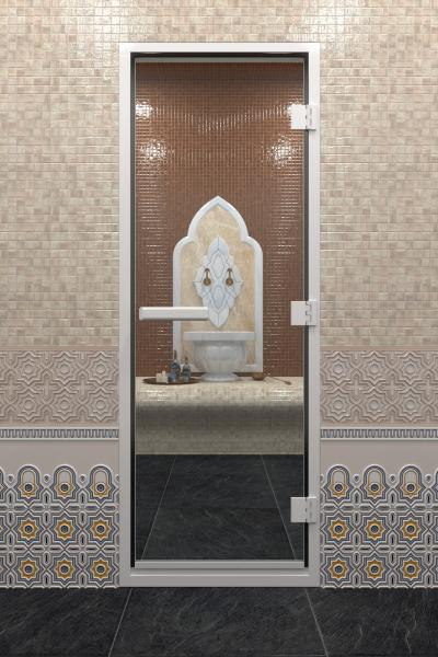 Дверь «Хамам Прозрачное»