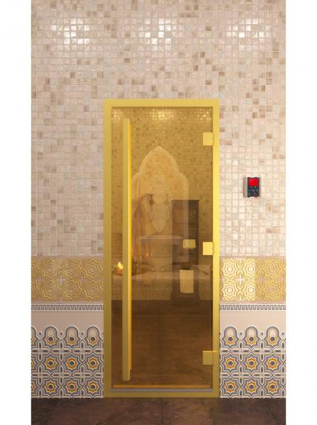 """Дверь """"Хамам Золото"""""""