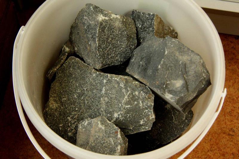 Камни Пироксенит колотый 10 кг.